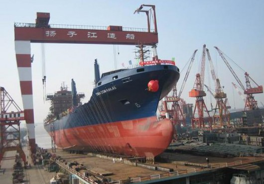 Yangzijiang Shipbuilding lays off 6,000 men, plans 2,000 more