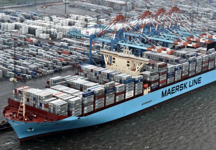 Maersk increases east-bound rate US$1,200/TEU and $1,500 per FEU
