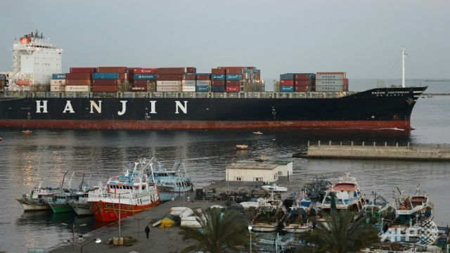 Naked Hanjin ships seized, cargo refused, creditors grab what's grabbable