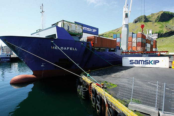 Samskip expands in Nordic region by buying Euro Container