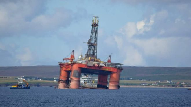 "Grounded Rig ""Transocean Winner"" to be transported to Turkey"