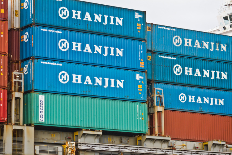 Hanjin Shipping files for chapter 15 bankruptcy protection in the US
