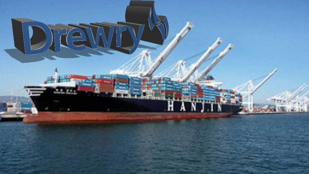 Drewry scolds shippers over Hanjin, for thinking carriers too big to fail