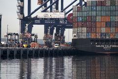 Hanjin California seized in Sydney's Port Botany
