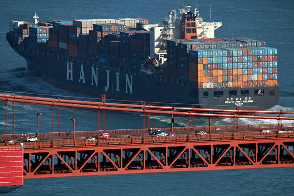 Freightos data show transpac rates surged since Hanjin's collapse