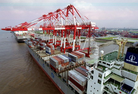 Shanghai Aug cargo up 6.5pc to 3.31 million TEU y-o-y, up 1.2pc from July