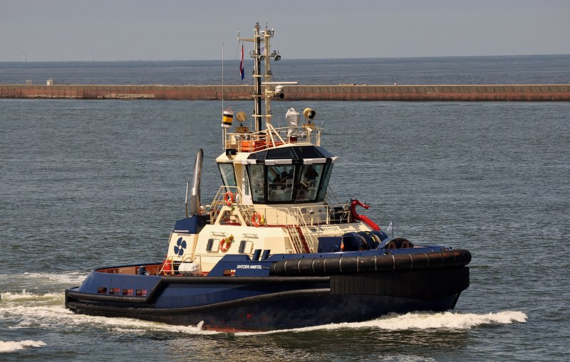 "Svitzer names new ""Svitzer Amstel"" tug in IJmuiden, The Netherlands"