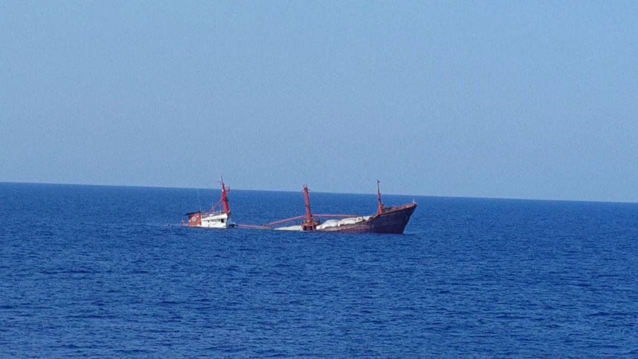M/V Murat Hacibekiroglu-2 sinks off Alanya in Mediterranean