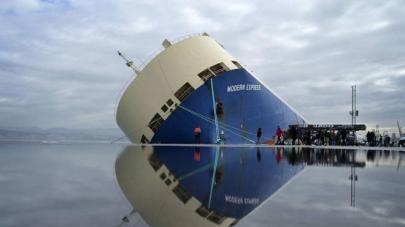 Modern Express due to leave Bilbao bound to Aliağa, Turkey for demo