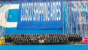 Cosco takes delivery of first China-made 20,000-TEU mega ship