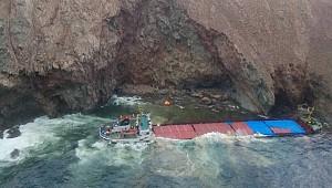 Huge rescue operation from Turkish coaster M/V Little Şeyma