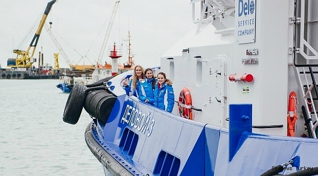 Name giving ceremony for three multi- functional tugboats of DAMEN ASD 2310 design