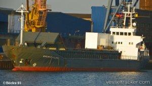 Cargo ship adrift in Zonguldak