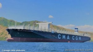 CMA CGM Takes Delivery of New Flagship, the 20,600 TEU CMA CGM Antoine De Saint Exupery