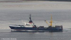 Fire on Russian trawler in Kirkenes