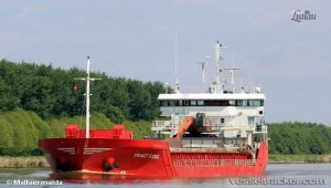 Freighter refloated after two days