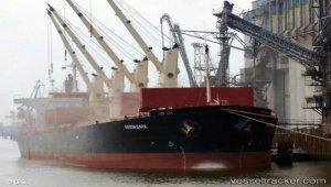 Main engine damage disabled bulkcarrier