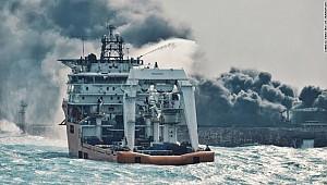 Tanker could burn for weeks - still hope for survivors - explosion on board