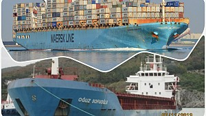 Turkish ship in collision with Maersk vessel off Constantza