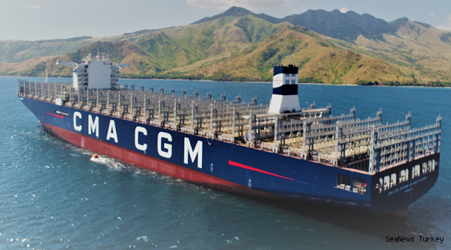 CMA CGM receives first of thre...