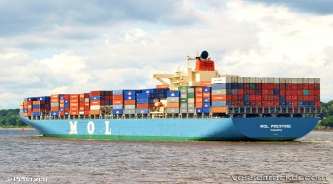 Container ship 'MOL Prestige' still adrift
