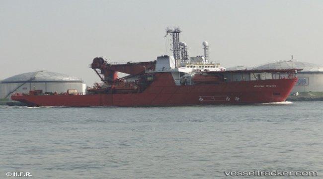 'Seven Osprey' enroute to breakers in Aliaga, Turkey
