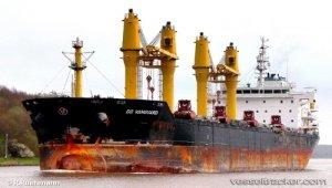 Bulkcarrier 'DD Vanguard' adrift off Shiono Misaki