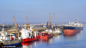 Namibia's new container terminal 76 pct complete