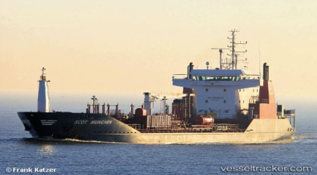 Pirate attack on tanker off Bonny
