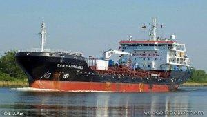 Tanker arrested for illegal oil trade