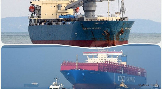 World's largest container ship, Cosco Shipping Leo, collided