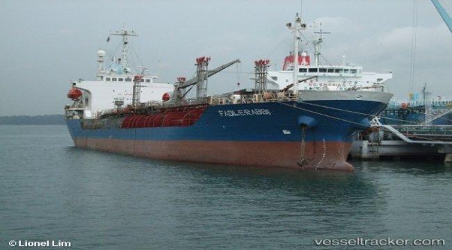 Arrested tanker shifted off the port