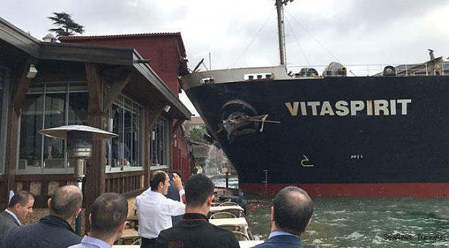 "Bulkcarrier ""VITASPIRIT"" seized after destroying historic mansion"