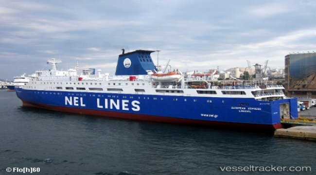 Laid up ferry suffered water ingress