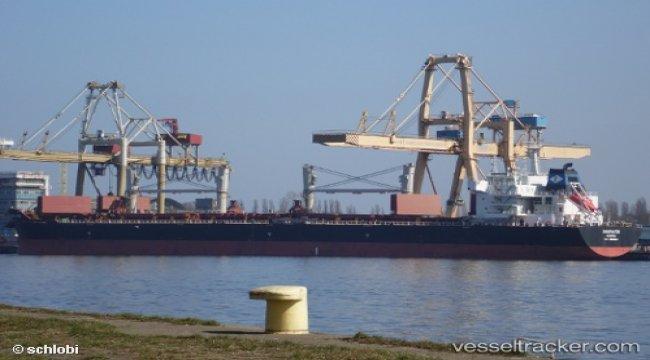 Lighter ship of bulckarrier sank in Mongla