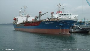 Arrested tanker shifted off the port
