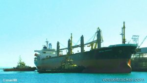 Bulkcarrier still detained months after accident