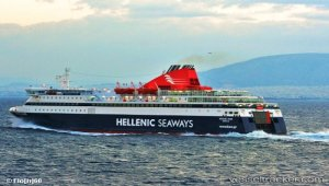 Ferry suffered technical damage