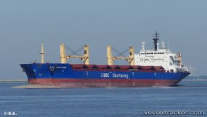 Ship entered repair yard after collision in Great Belt