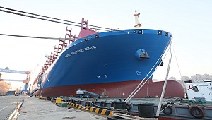 Cosco unveils newest 20,119-TEUer, the 202,000-dwt Gemini