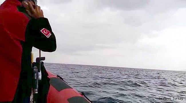 Missing 4 fishermen being searched from sea and air in Turkey's Ayvalık district