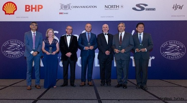 Mission to Seafarers awards individuals helping seamen