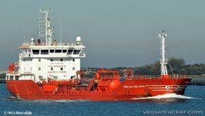 Disabled tanker docked at A Coruña