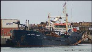 Dredger sank off Suances