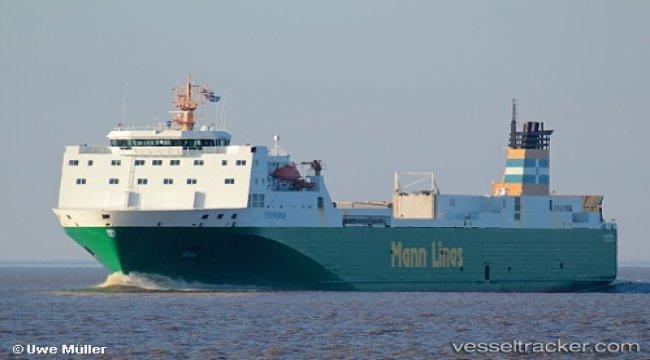 P&O Ferries moves ESTRADEN to Zeebrugge-Teesport service