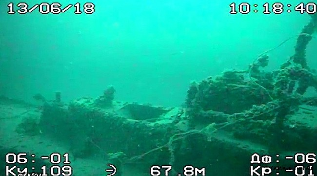 Submarines, planes and ships found under the Black Sea