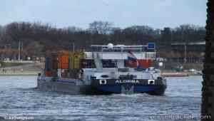 Allision on the Rhein at Weil
