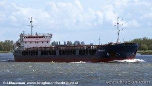 Allision on Volga-Baltic-Canal