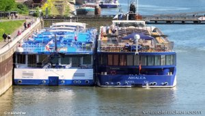 AmaWaterways officially welcomes AmaLea to river cruise fleet