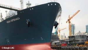 """K"" Line takes delivery of 311,000 DWT - type VLCC ""TEDORIGAWA"""